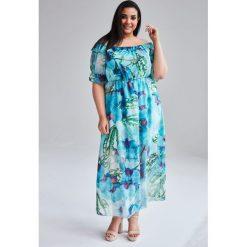 009a173b50 Sukienka maxi plus size - Sukienki - Kolekcja wiosna 2019 - Sklep ...