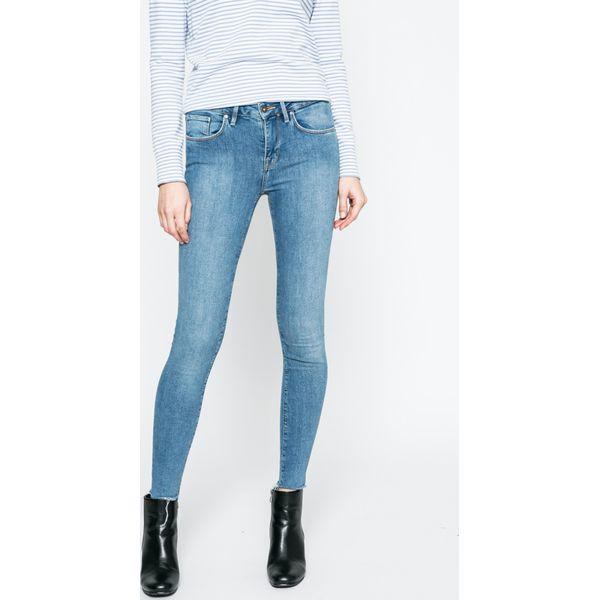 e5ec777567b4f Tommy Hilfiger - Jeansy - Szare spodnie materiałowe marki TOMMY ...