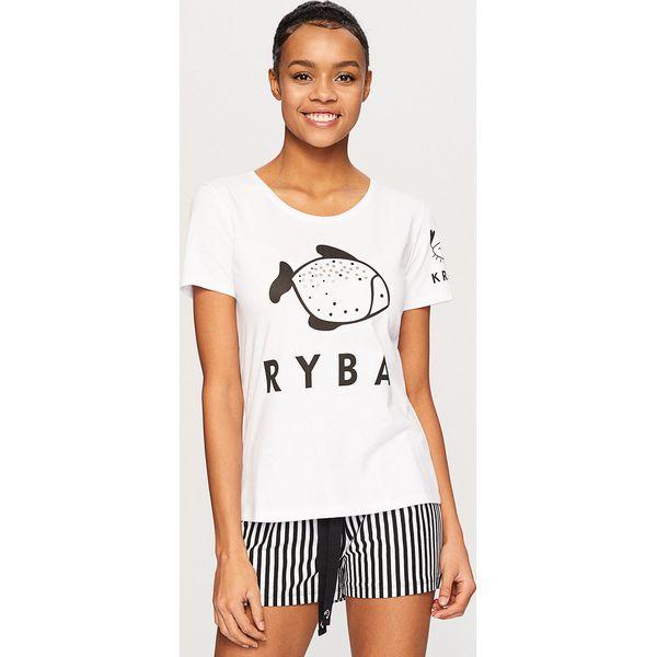 65b75312239211 Dwuczęściowa piżama - Biały - Białe piżamy Reserved. W wyprzedaży za ...