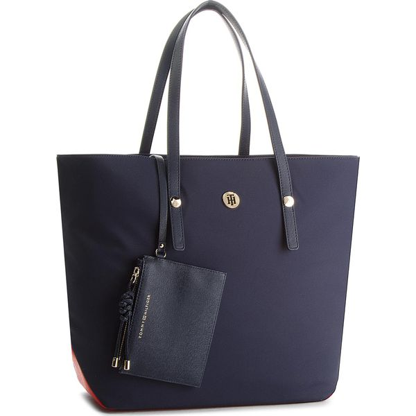 48421a88bb919 Torebka TOMMY HILFIGER - Tommy City Tote Nylo AW0AW05451 901 ...