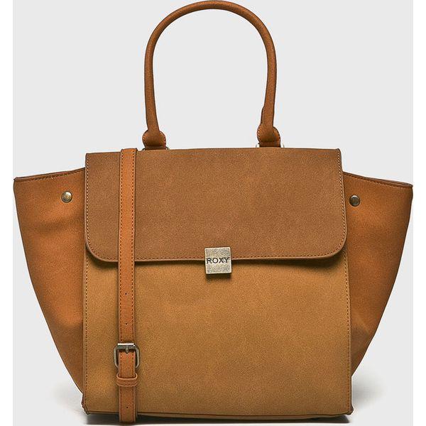 c7354d18b734b Roxy - Torebka - Brązowe torby na ramię marki Roxy, w paski, z ...