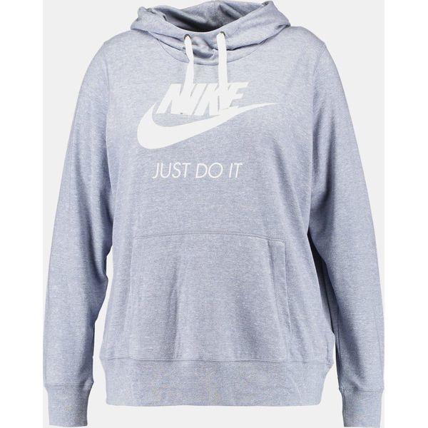 24e9e75cc Nike Sportswear GYM VINTAGE HOODIE Bluza z kapturem glacier grey ...