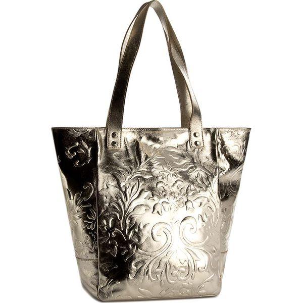 e59251285074d Torebka CREOLE - K10399 Złoty - Shopper marki Creole. W wyprzedaży ...