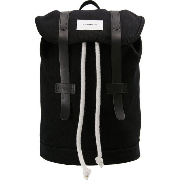 24668f7174852 Sandqvist STIG SMALL Plecak black - Plecaki marki Sandqvist. Za ...