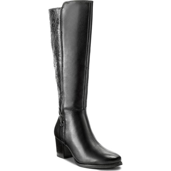 cad6884e986c4 Kozaki CAPRICE - 9-25540-39 Black Comb 019 - Czarne kozaki marki ...