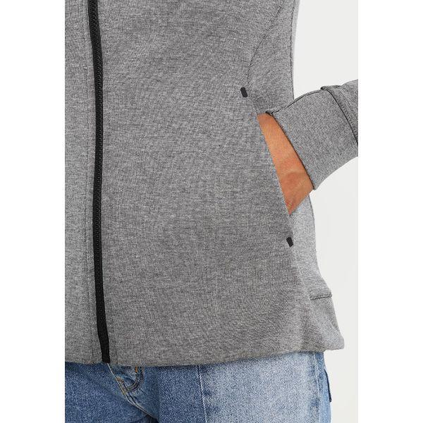 24b411988 Nike Sportswear HOODIE Bluza rozpinana gris/noir - Szare bluzy Nike ...