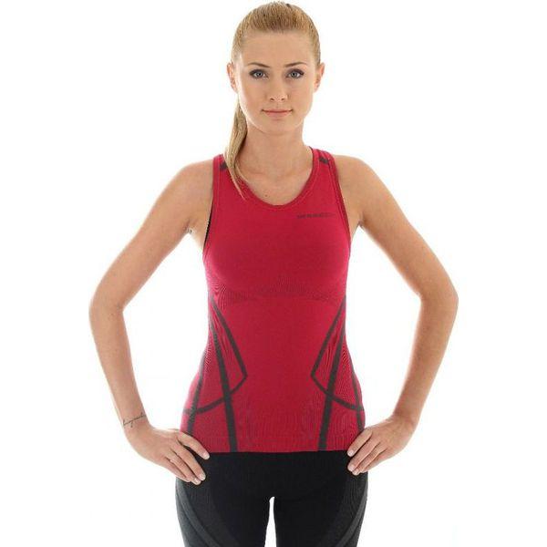 5e6d6fea3730e1 Brubeck Koszulka damska Fitness W bordowa r. S (TA10150) - Czerwone ...