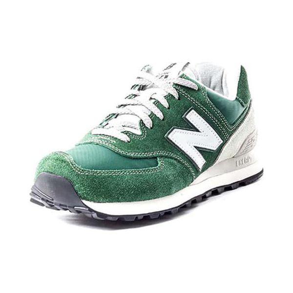 515381af20e3c5 Buty sportowe w kolorze biało-zielonym - Białe obuwie sportowe ...