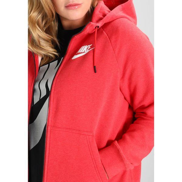 05b4a93040cf53 Nike Sportswear RALLY HOODIE Bluza rozpinana university red ...