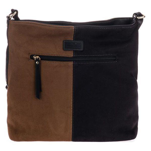 0d5f46460c0ab Tom Tailor Torebka Damska Goldy Czarny - Czarne torby na ramię marki ...