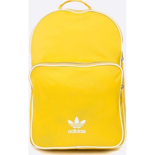 575eaec56 adidas Originals - Plecak - Żółte plecaki Adidas Originals, w paski ...
