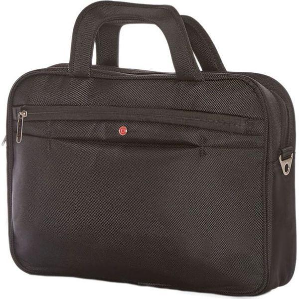 18e0a80db94fb Torba w kolorze czarnym na laptopa - 61 x 32 x 7 cm - Czarne torby ...