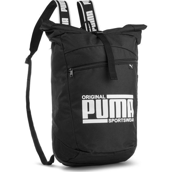 90ebf995c09d5 Plecak PUMA - Sole Backpack 075435 Puma Black 01 - Czarne plecaki ...