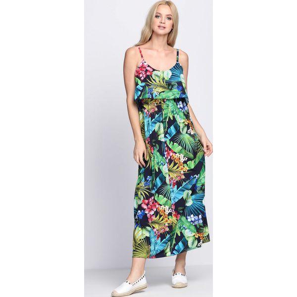 e64a83d8ce Granatowa Sukienka Excited That - Niebieskie sukienki marki Born2be ...