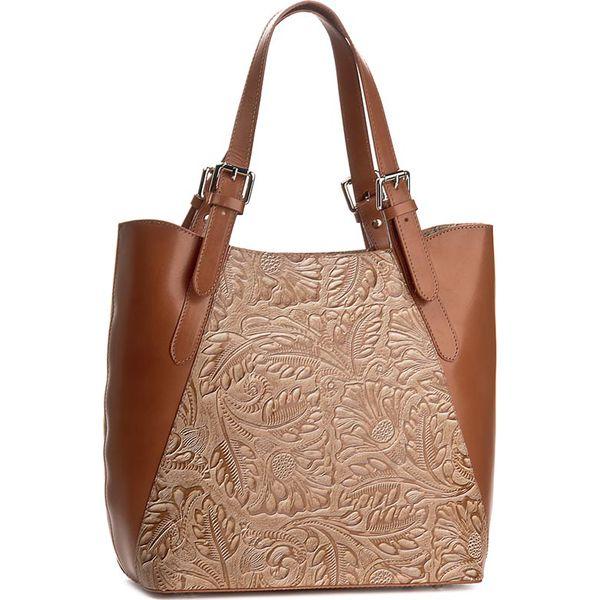 97e997ef3dc02 Torebka CREOLE - K10368 Koniak - Brązowe torebki klasyczne marki ...
