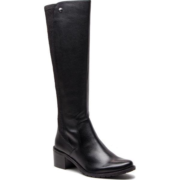 246cbb7ff1225 Kozaki CAPRICE - 9-25512-21 Black Nappa 022 - Czarne kozaki marki ...