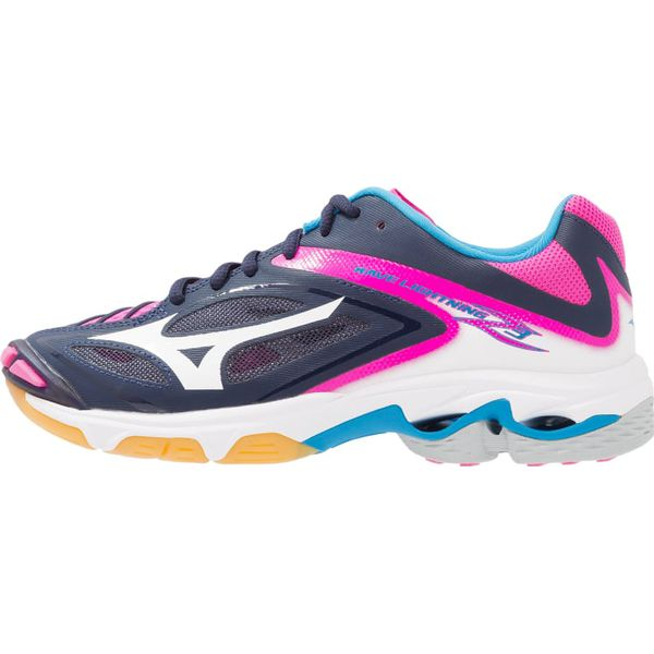 1d37d740 Mizuno WAVE LIGHTNING Z3 Obuwie do siatkówki peacoat/white/pink glow ...