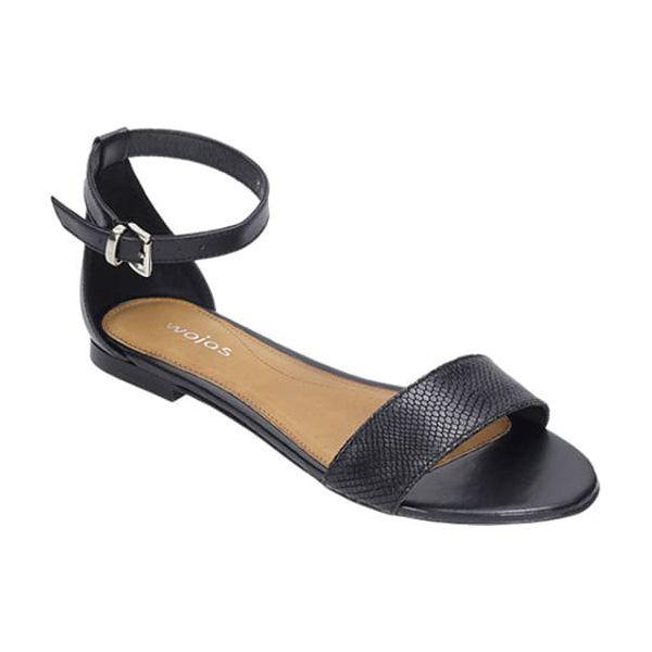 da2f6e02 Skórzane sandały w kolorze czarnym - Sandały Wojas. W wyprzedaży za ...