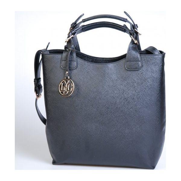 944da09269d08 Lydc Torebka Damska Czarna Pure - Czarne torebki klasyczne marki ...