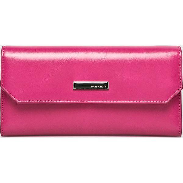 43e182caca7a2 Monnari - Portfel skórzany - Różowe portfele marki Monnari