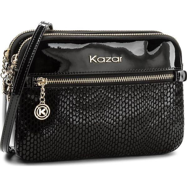 5228da5ba033e Torebka KAZAR - Rita 30996-L8-00 Black - Czarne torby na ramię marki ...