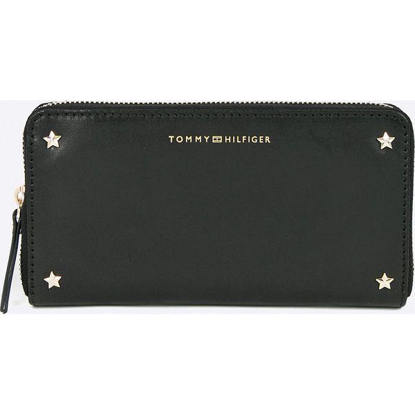 c75e5e8949826 Tommy Hilfiger - Portfel skórzany - Czarne portfele marki TOMMY ...