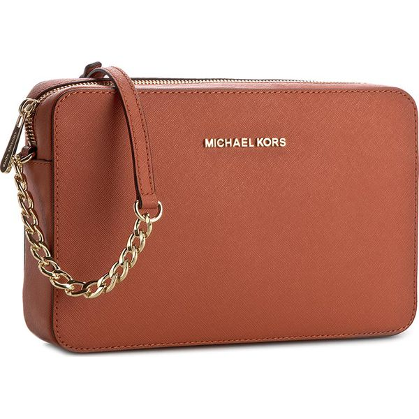 238b3f9cecf3b Torebka MICHAEL KORS - Jet Set Travel 32S4GTVC3L Orange - Brązowe ...