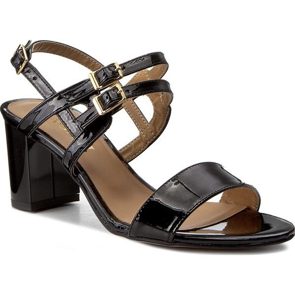 Sandały SAGAN - 2926 Czarny Lakier - Czarne sandały marki Sagan 9cedfdd0cd