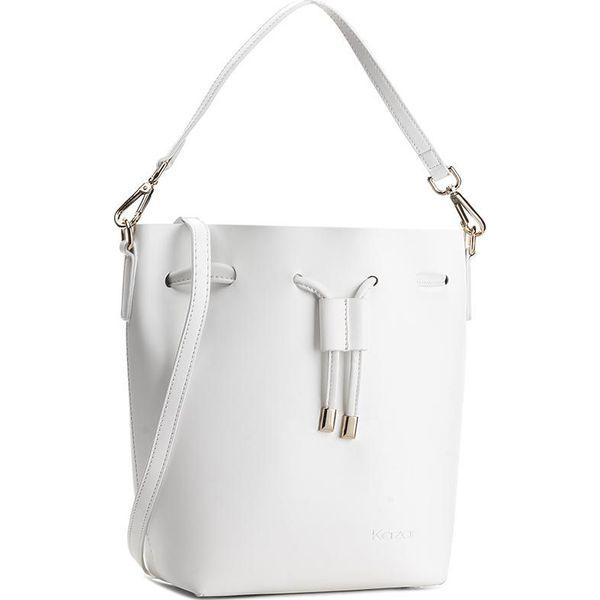 36aa12c40f869 Torebka KAZAR - Aoife 29346-01-01 Biały - Białe torebki klasyczne ...