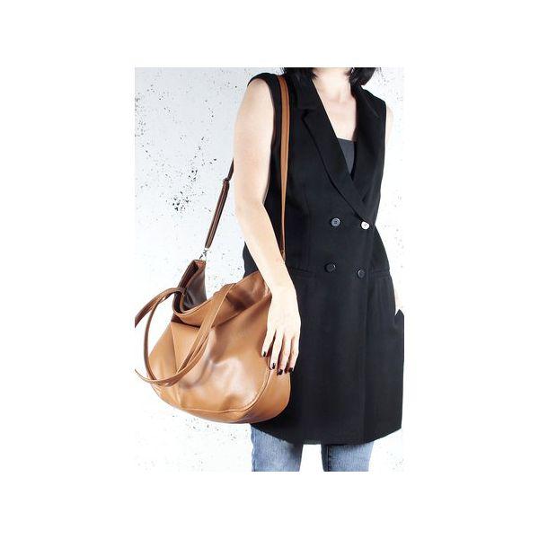5fcabbc3789b7 Pacco bag ruda torebka z dodakowym długim paskiem - Torby na ramię ...