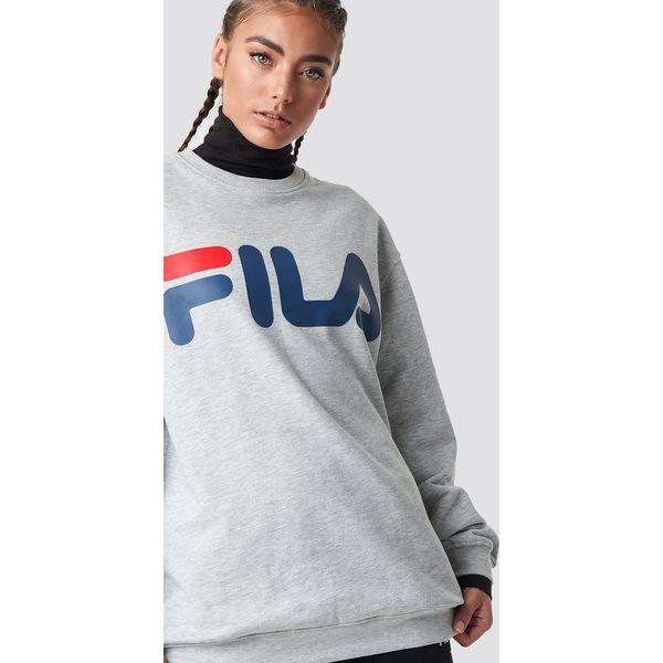 FILA Bluza Classic Logo Grey