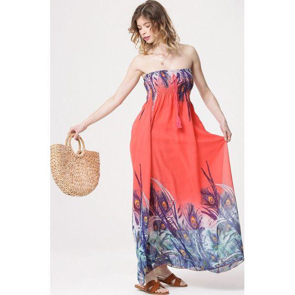 dd9007cc73 Koralowa Sukienka Pick Up On - Pomarańczowe sukienki marki Born2be ...