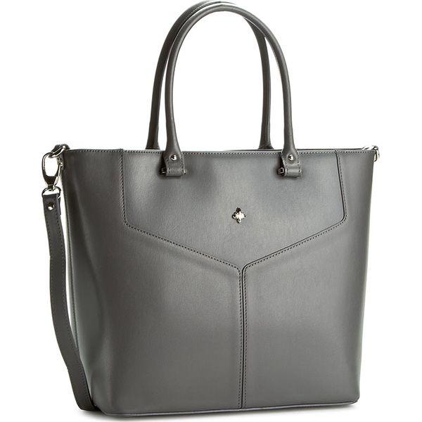 638f4942c6214 Torebka CREOLE - K10271 Ciemny Szary - Szare torebki klasyczne marki ...