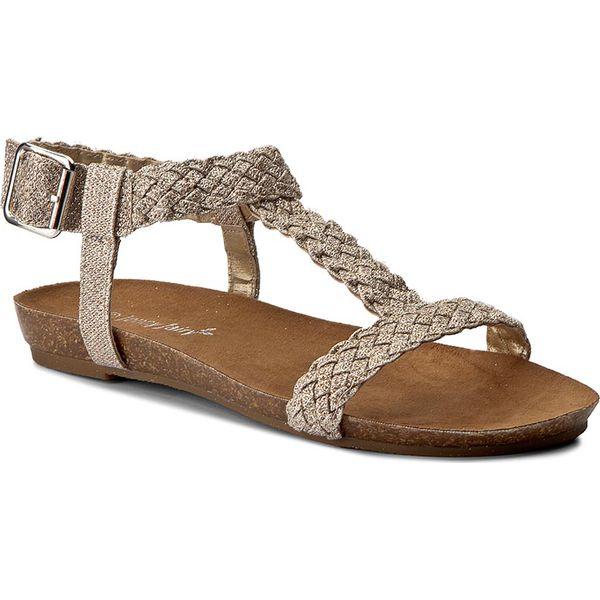 a27f59680cb91 Sandały JENNY FAIRY - LS4088-01 Złoty - Żółte sandały marki Jenny ...