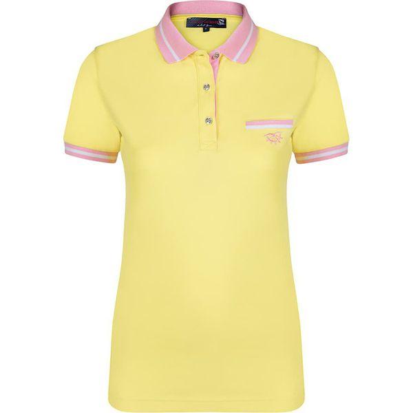 Koszulka polo w kolorze żółtym - Żółte koszulki polo marki Giorgio ... e8ab2385081