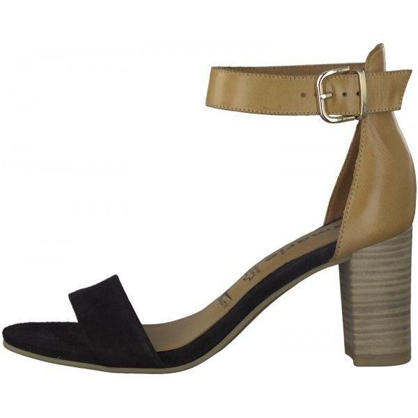 3189b29761178 Tamaris Sandały Damskie 37 Czarne - Czarne sandały marki Tamaris, na ...