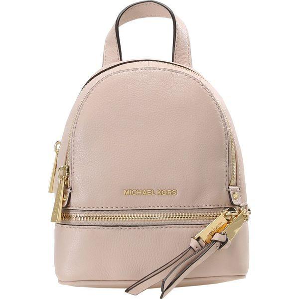 a80658ade4db2 MICHAEL Michael Kors RHEA ZIP BACKPACK Plecak soft pink - Czerwone ...