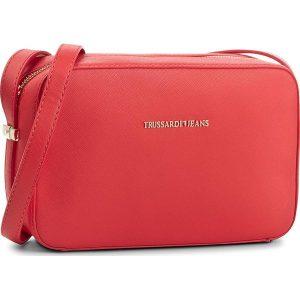 ae01c43041cd0 Czerwone torebki marki Trussardi Jeans - Kolekcja wiosna 2019