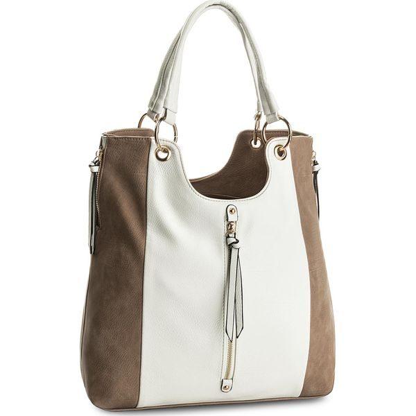 42c3298f89af0 Torebka JENNY FAIRY - RC11405 Beżowy - Białe torebki klasyczne marki ...