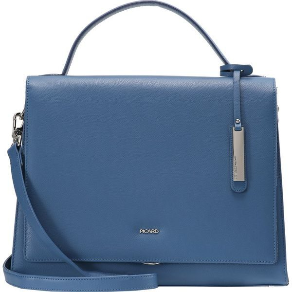 c165e64d822c9 Picard BERLIN Torebka blue - Niebieskie torebki klasyczne marki ...