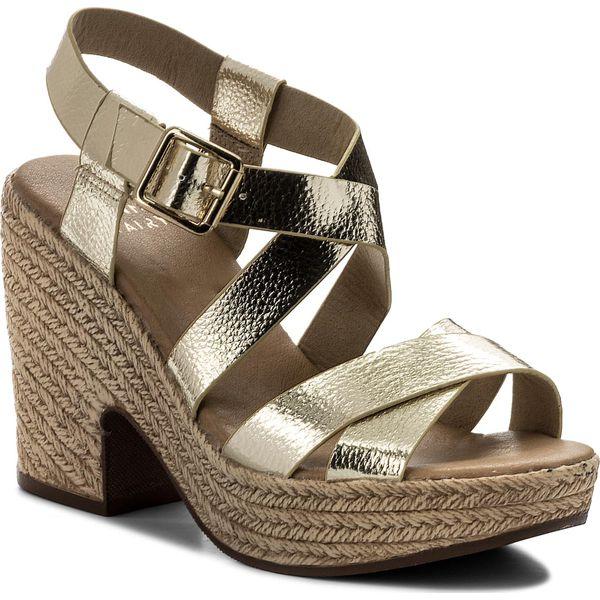 4add83d3f18bb Sandały JENNY FAIRY - LS4448-05 Złoty - Żółte sandały marki Jenny ...