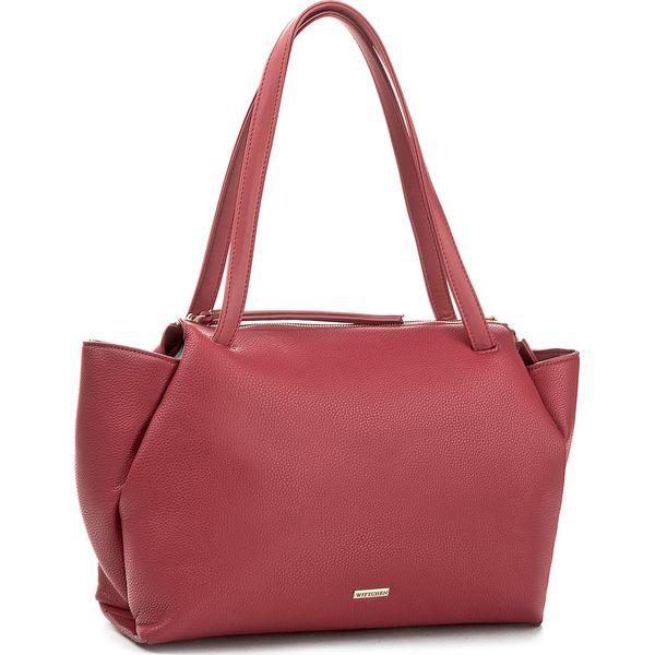 510990e861a84 Torebka WITTCHEN - 85-4Y-100-3 Bordowy - Czerwone torebki klasyczne ...