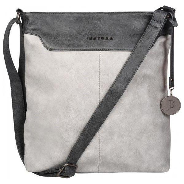 8df45bdd9c8f5 Justbag Torebka Damska Szara - Szare torebki klasyczne marki Justbag ...