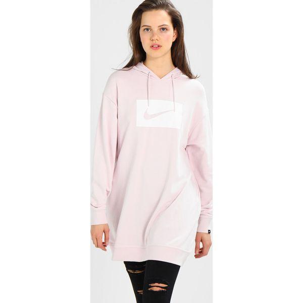 4b2a7cca0560c4 Nike Sportswear HOODIE Bluza z kapturem barely rose white - Czerwone ...