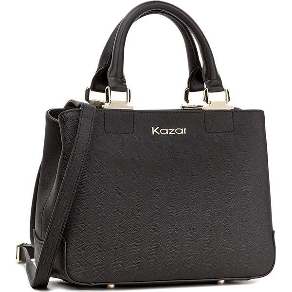 79b58787 Torebka KAZAR - Mona 25711-01-00 Czarny - Czarne torebki klasyczne ...