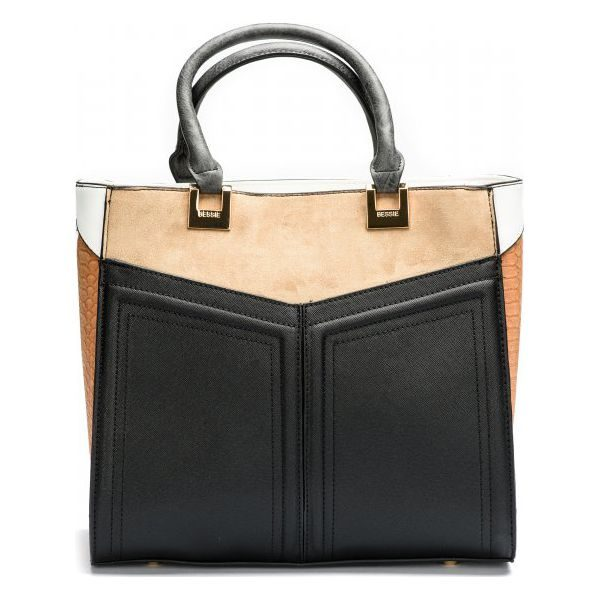 dd1fe72512cd9 Bessie London Torebka Damska Czarny - Czarne torebki klasyczne marki ...