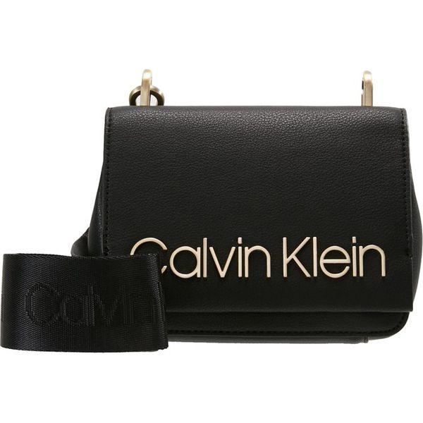 12e58212c9c6b Calvin Klein CANDY SMALL Torba na ramię black - Torby na ramię marki ...
