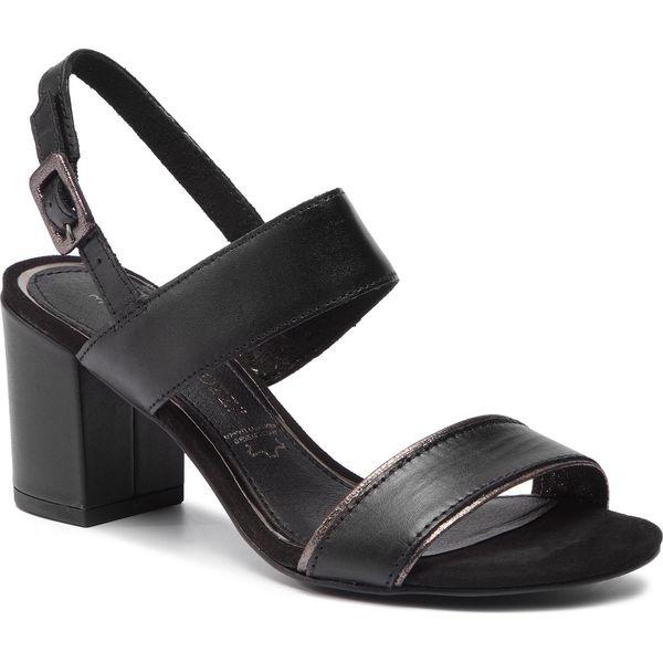 Sandały MARCO TOZZI 2 28344 22 Black 001 Sandały damskie czarne w eobuwie.pl