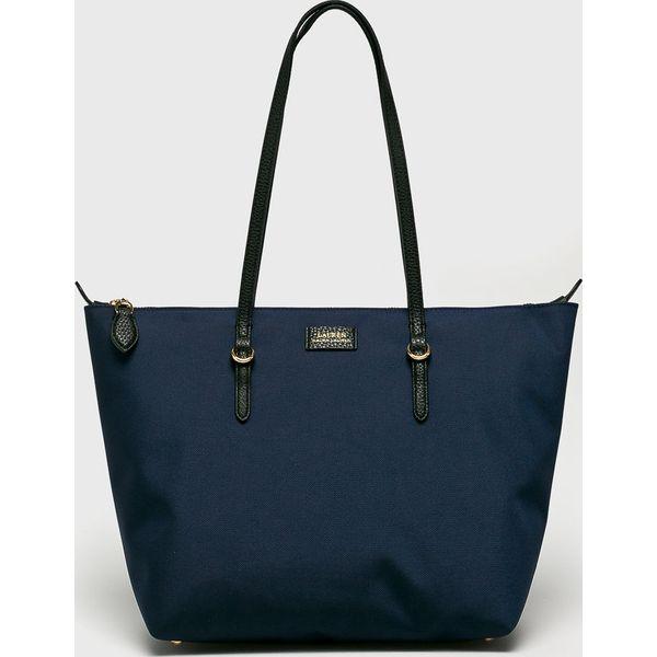 a9559163abf3d Lauren Ralph Lauren - Torebka - Szare torby na ramię marki Lauren ...