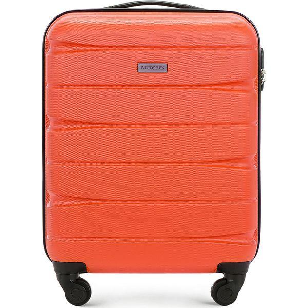 0c57b13a81851 Walizka kabinowa 56-3A-361-55 - Pomarańczowe walizki marki Wittchen ...